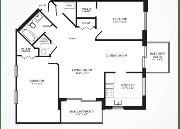 Willow II floorplan