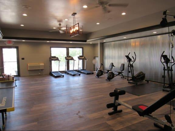 Fitness Center at Plato's Cave Apartments, Branson MO 65616