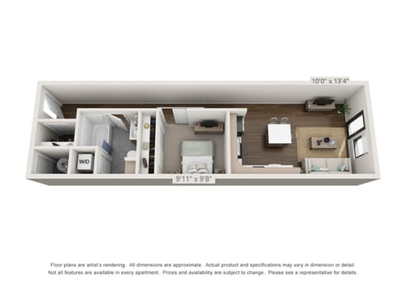 large apartments in denver