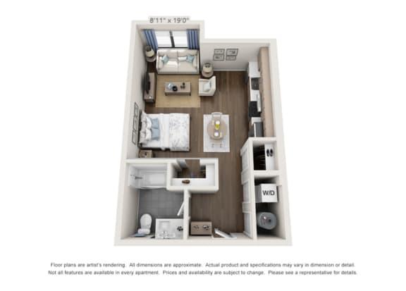luxury floorplan for apartments in denver