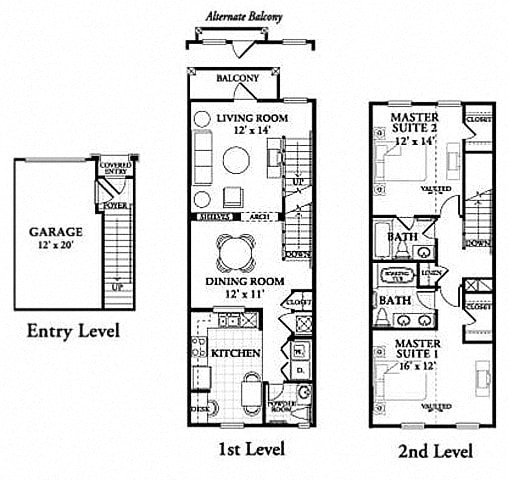 Floor plan at Northlake Park, Orlando, FL,32827