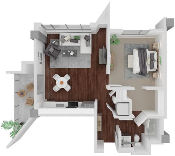 Floor Plan  Venn on Market| Castro
