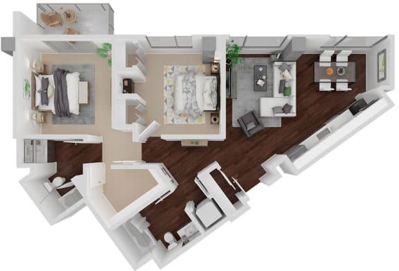 Floor Plan  Venn on Market|Guerrerro