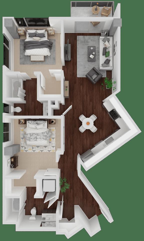 Floor Plan  Venn on Market| Church