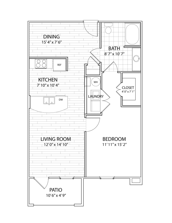 one bedroom apartment in round rock texas
