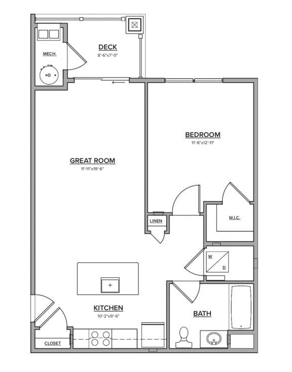 The Bantam Floorplan