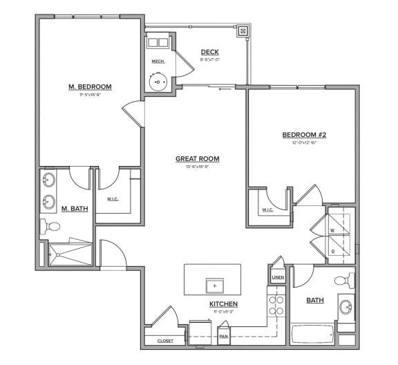 The Eagleville Floorplan