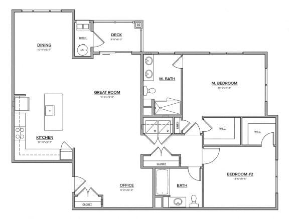 The Farmington Floorplan