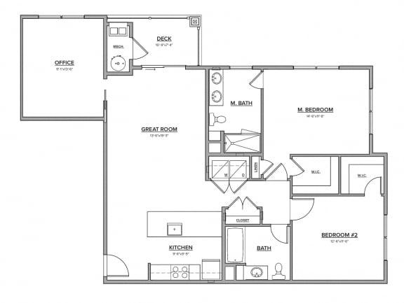The Gardner Floorplan
