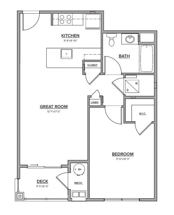 The Keney Floorplan