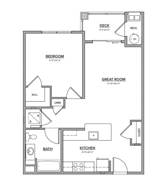 The Lakewood Floorplan