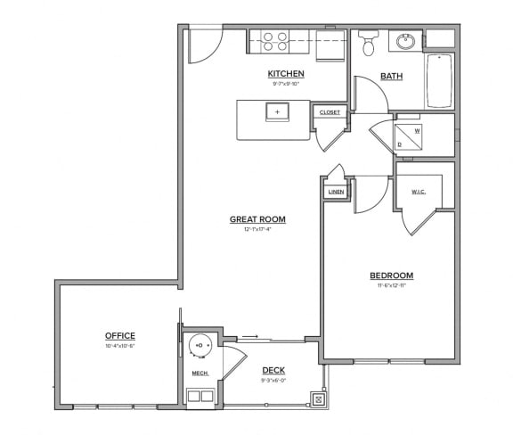 The Mansfield Floorplan