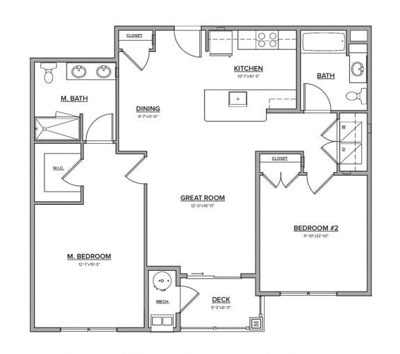 The Northfield Floorplan