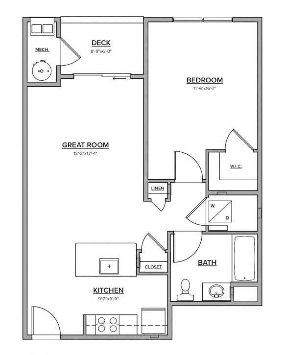 The Quaddick Floorplan