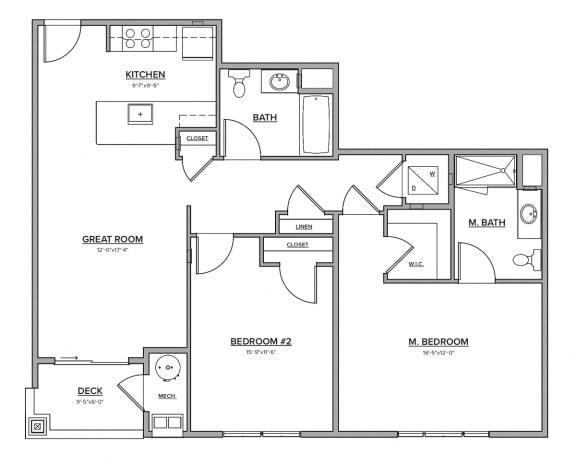 The Roseland Floorplan
