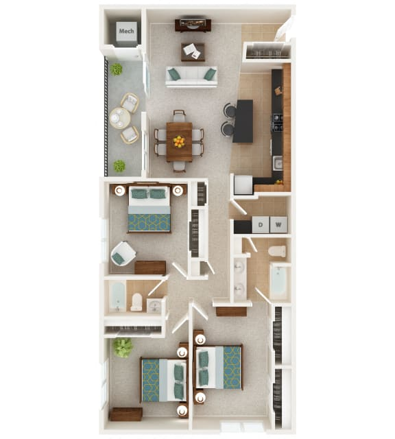 Floor Plan  Patapsco