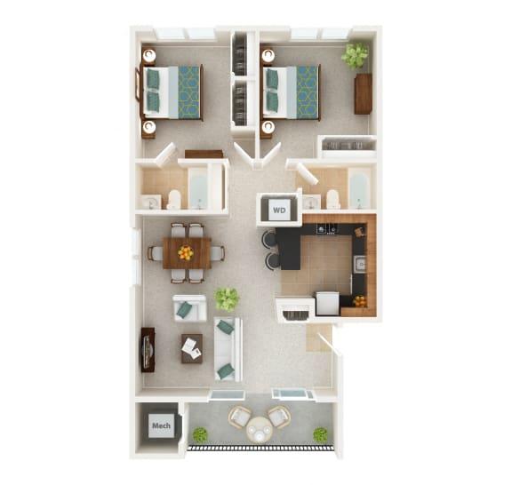 Floor Plan  West