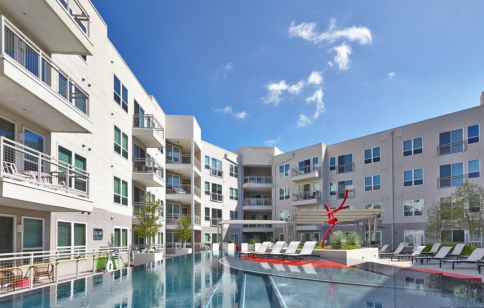 Echo   211 and 21 Bedroom Floor Plans   Apartments in Dallas, TX