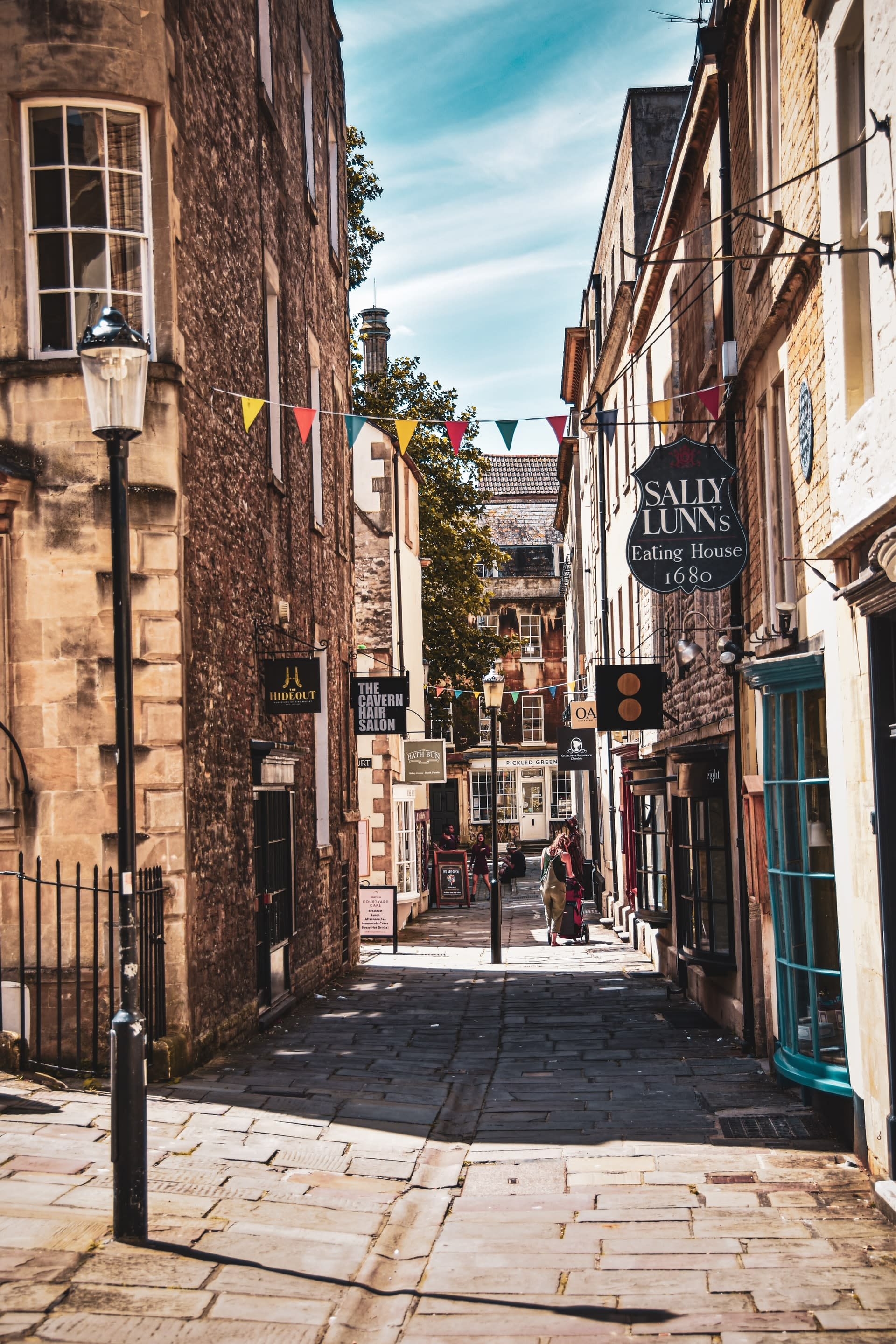 Independent shops in Bath