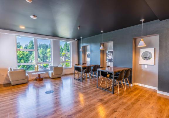 resident indoor lounge working area