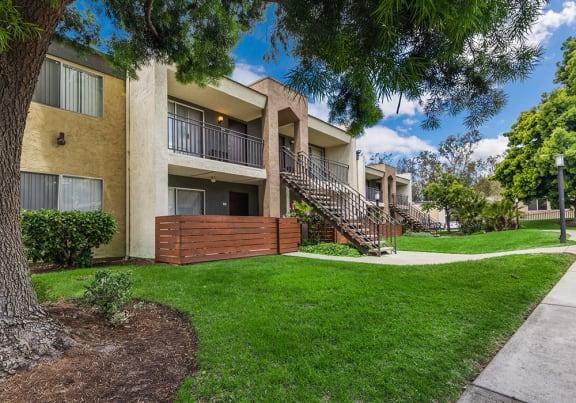 Apartment building at Cove La Mesa in La Mesa, CA