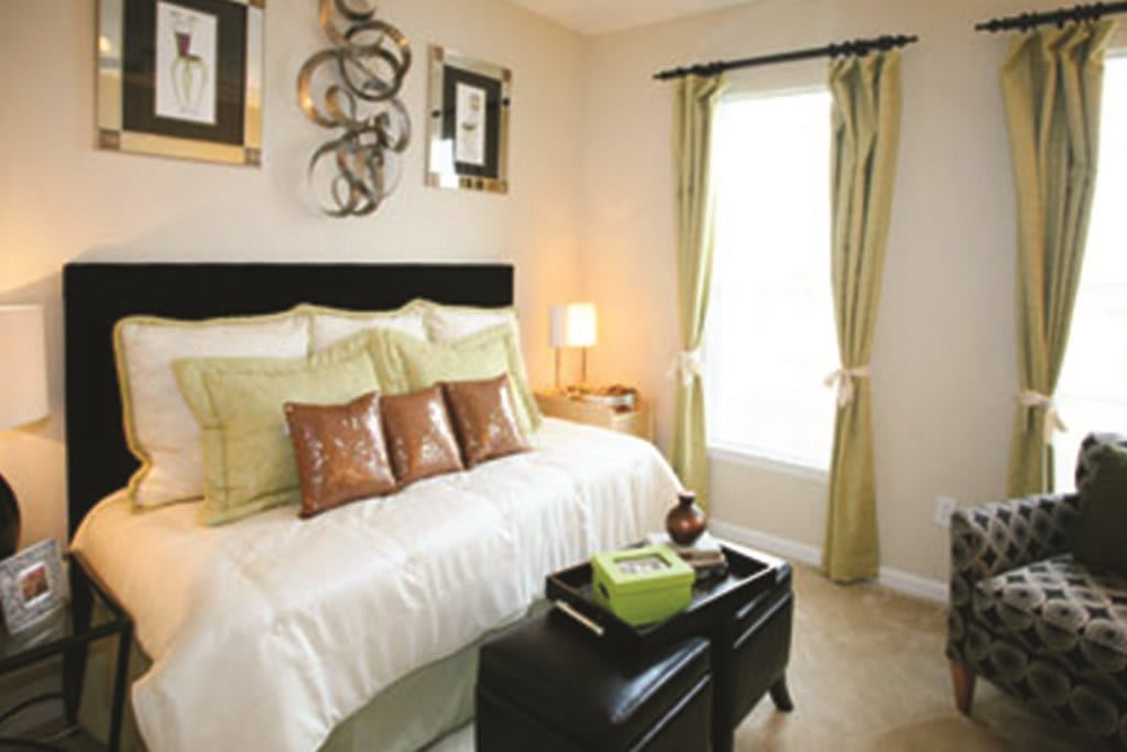 Bedroom at Lakeside Vista Apartments in Kennesaw GA