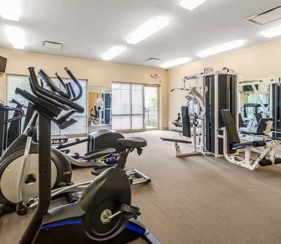 Fitness center-Renaissance Place at Grand Apartments, St. Louis, MO