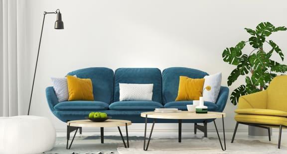 Living Room with comfortable sofa at Century Millenia, Orlando, FL, 32839