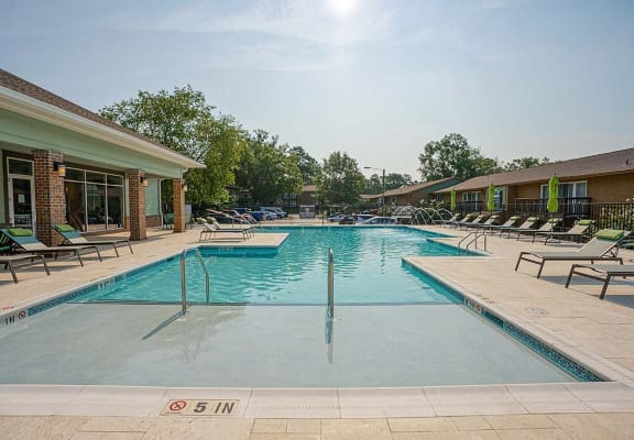 Fountains of Edenwood Pool with Lounge Seating
