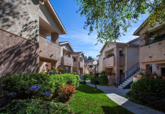 External View at Cypress Meadows Senior Apartments, Ventura, California