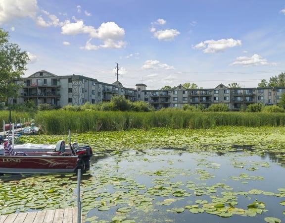 Medicine Lake Apartments in Plymouth, MN Lake Views