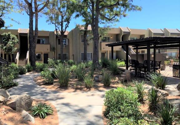 1 & 2 Bedroom Apartments with Patios at Scripps Poway Villas at 12425 Oak Knoll Rd, Poway, CA 92064