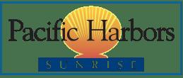 """""""Pacific Harbors Sunrise"""" Logo"""