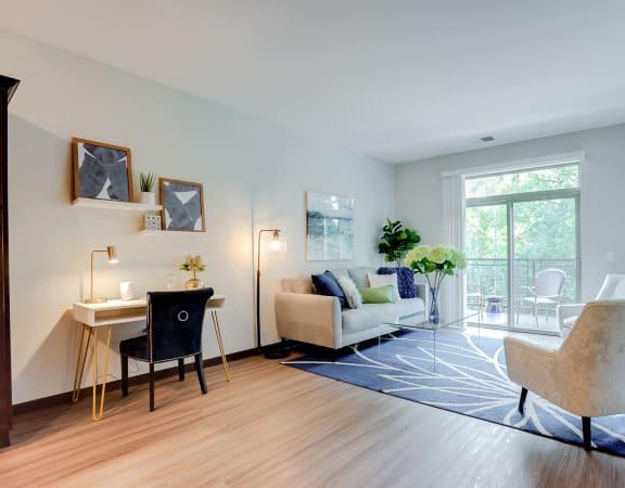 Captain, 1 bedroom, 1 bath - spacious living areas with vinyl flooring