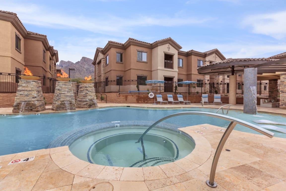 Resort style pool | Canyons at Linda Vista Trail