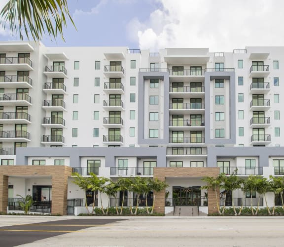 Twenty2 Exterior   Twenty2 West   Luxurious Apartments in Miami, FL