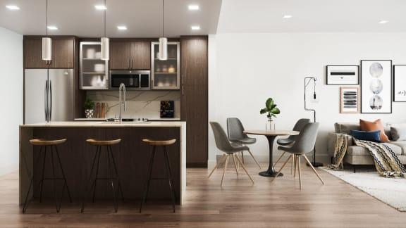 a3 Kitchen area