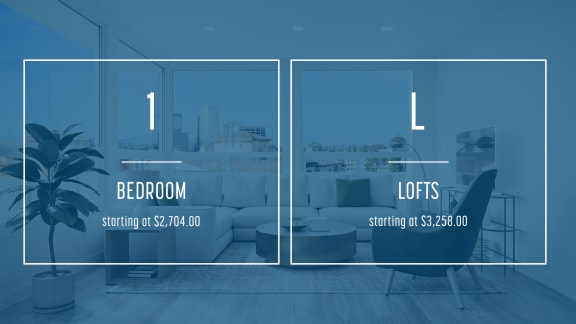 1 bedroom loft floorplan