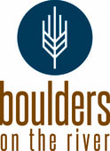 Boulders on the River Logo