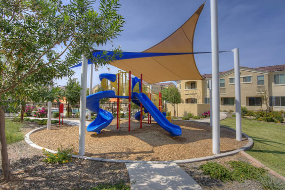 Playground at Bella Victoria Apartments in Mesa Arizona January 2021