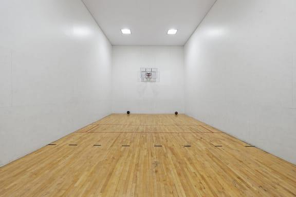Basketball and raquetball court at Nine90 Apartments in Tucson AZ November 2020