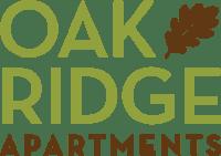 Oak Ridge Apartments Logo Graphic