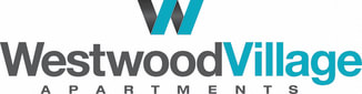 Logo for Westwood Village Apartments in Westland Michigan