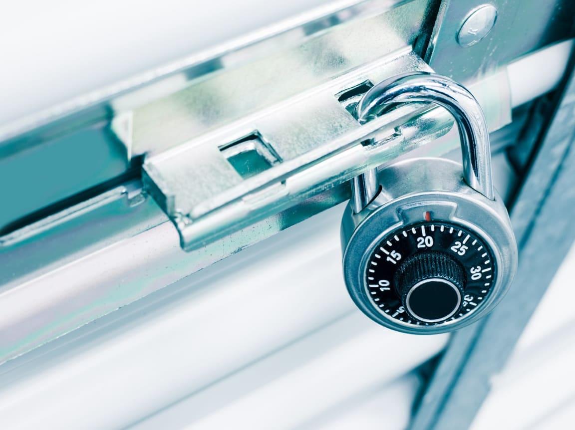 Storage Unit Lock