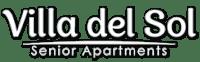 Property logo, at Villa Del Sol, Santa Maria California
