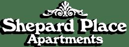 Property logo, at Shepard Place, Carpinteria, CA