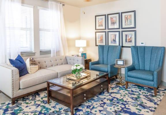 Soft Comfortable Sofa at San Tropez Apartments & Townhomes, Utah