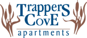 Property Logo at Trappers Cove Apartments, Lansing, MI