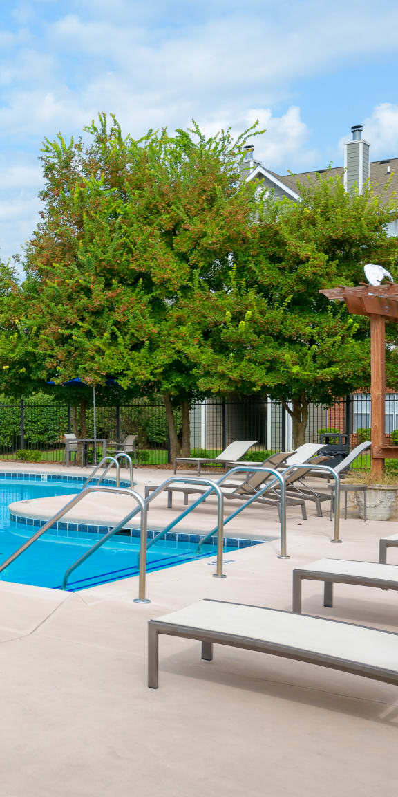 Exterior Pool and Sundeck