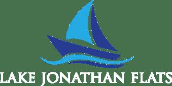 Lake Jonathan Flats branding logo